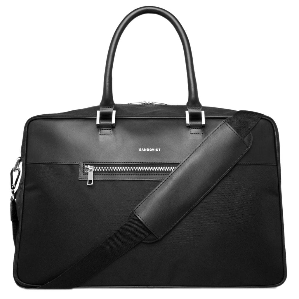 Gentleman Store - Sandqvist Mattias hétvégi táska - fekete ... c87c15c7f9
