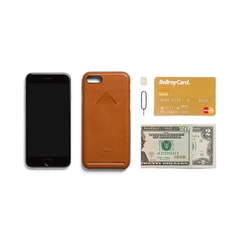 Bellroy Phone Case 1Card iPhone 7 - karamell