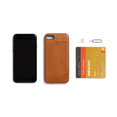 Bellroy Phone Case 3Card iPhone 7 - karamell