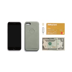 Bellroy Phone Case 1Card iPhone 7 - eukaliptusz