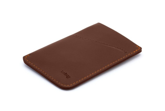 Bellroy Card Sleeve - kakaó